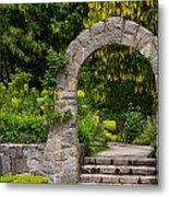 Archway To The Secret Garden Metal Print