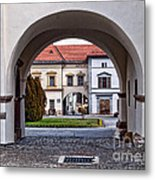 Archways Metal Print