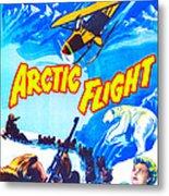 Arctic Flight, Us Poster, From Left Metal Print