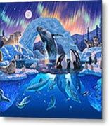 Arctic Harmony Metal Print