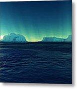 Arctic Lights Metal Print