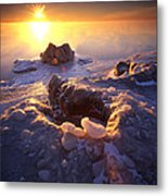 Arctic Sunrise Metal Print