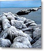 Arctic Waters Metal Print