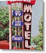 Arden Motel Metal Print