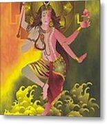 Ardhanareeswara  Metal Print
