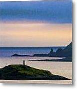Ardtreck Point Lighthouse Metal Print
