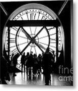 Are We In Time... Metal Print