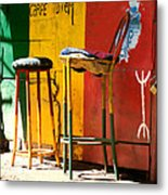 Are You Sitting Comfortably Metal Print