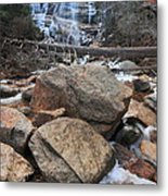 Arethusa Falls Metal Print by Catherine Reusch Daley