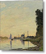 Argenteuil Late Afternoon Metal Print