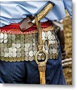 Argentina Gaucho Coin Belt Metal Print