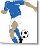 Argentina Soccer Player1 Metal Print