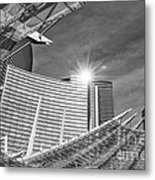 Aria Sun - Aria Resort And Casino At Citycenter In Las Vegas Metal Print