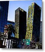 Aria Towers Metal Print