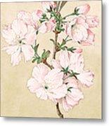 Ariake - Daybreak - Vintage Japanese Watercolor Metal Print