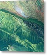 Ariel View Of Venus Metal Print