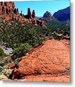 Arizona Bell Rock Valley N8 Metal Print