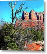 Arizona Bell Rock Valley 1 Metal Print