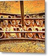 Arizona Biltmore Cattle Brand Metal Print