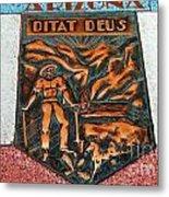 Arizona Ditat Deus Metal Print