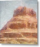 Arizona Mesa Metal Print