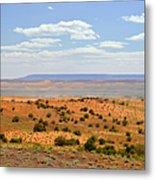 Arizona Near Canyon De Chelly Metal Print by Christine Till