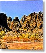 Arizona Panorama Organ Pipe Metal Print