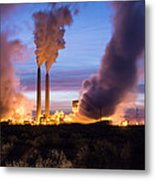 Arizona Power Plant Metal Print
