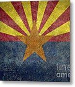 Arizona State Flag Metal Print