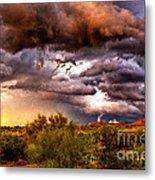 Arizona Sunset 5 Metal Print
