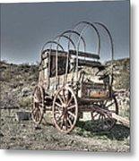 Arizona Wagon Metal Print
