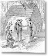 Arkansas Hot Springs, 1878 Metal Print