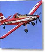 Arkansas Razorbacks Air Tractor Metal Print