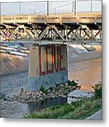 Arkansas River Walk Metal Print