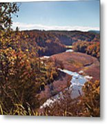 Arkansas Valley Metal Print