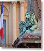Arles Place De La Republique Metal Print