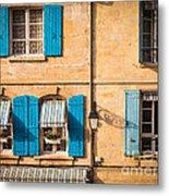 Arles Windows Metal Print