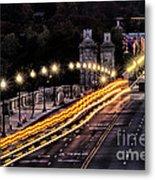 Arlington Bridge And Cemetery Metal Print
