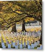 Arlington National Cemetery Washington Dc Metal Print