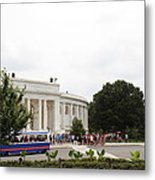 Arlington National Cemetery - Structures On Grounds - 01131 Metal Print by DC Photographer