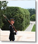 Arlington National Cemetery - Tomb Of The Unknown Soldier - 01135 Metal Print by DC Photographer