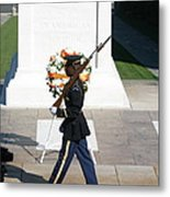 Arlington National Cemetery - Tomb Of The Unknown Soldier - 121210 Metal Print by DC Photographer
