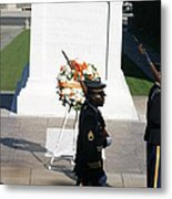 Arlington National Cemetery - Tomb Of The Unknown Soldier - 121213 Metal Print by DC Photographer