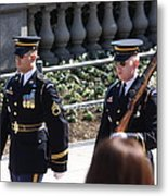 Arlington National Cemetery - Tomb Of The Unknown Soldier - 121223 Metal Print by DC Photographer