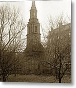 Arlington Street Church Unitarian Universalist Boston Massachusetts Circa 1900 Metal Print
