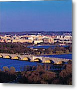 Arlington, Va - Wash D.c. - Panoramic Metal Print