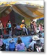 Arlo Guthrie And Family Metal Print