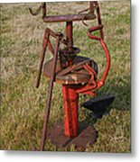 Arm Strong Tire Changer Metal Print