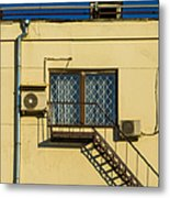 Armed To The Roof Metal Print