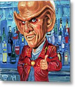Armin Shimerman As Quark Metal Print